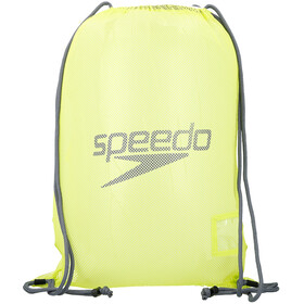 speedo Equipment Sac en maille L, lime punch/ oxid grey